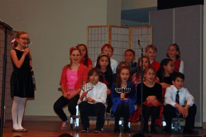 A few of our 3rd and 4th graders in Tuesday's performance